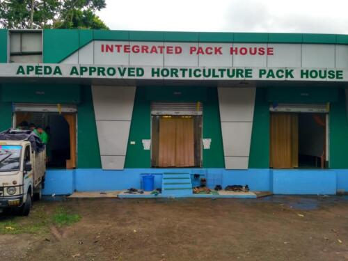 APEDA approved pack house in Kolkata, India.